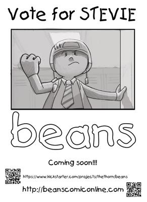 Beans Poster - Stevie